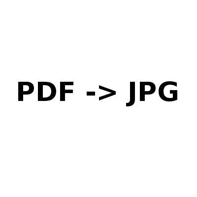 PDF konverze do JPG