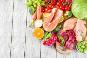 Produkty żywnościowe stosowane w diecie Pegan i paleo