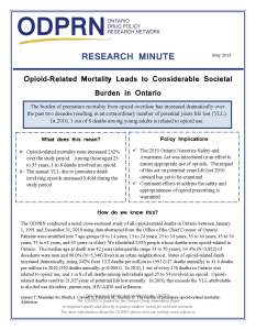 Research Minute - PYLL - Policy FINAL
