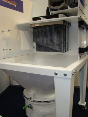 odpylanie ATEX - miejsce na filtr przeciwwybuchowy