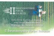 II Świętokrzyskie Forum Rolnicze