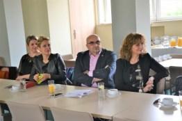 Delegacja z Chorwacji