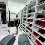 Peter Okoye Flaunts Closet, Gives One Lucky Fan 30 Seconds To Raid It