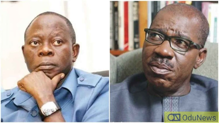 APC Governors Meet Oshiomhole To Settle Feud With Obaseki