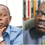 "Edo: Obaseki Blows Hot, Promises To Deal With Oshiomhole ""Ruthlessly"""