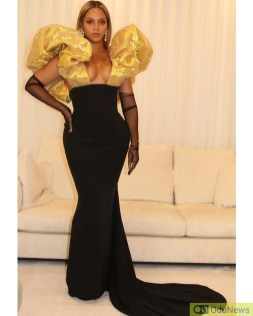 Beyonce at Golden Globes Awards 2020