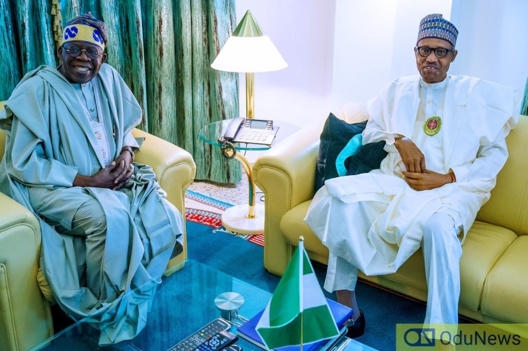 2023: Tinubu Meets Buhari, Reveals Stance On Zoning