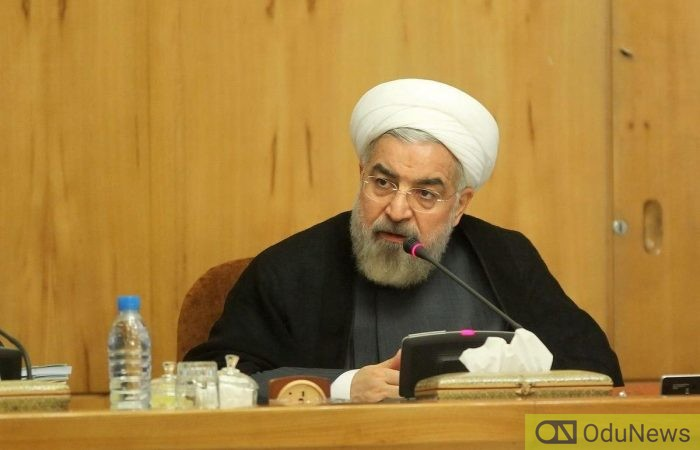 President Hassan Rouhani finally admits that Iran shot down Ukrainian jet mistakenly