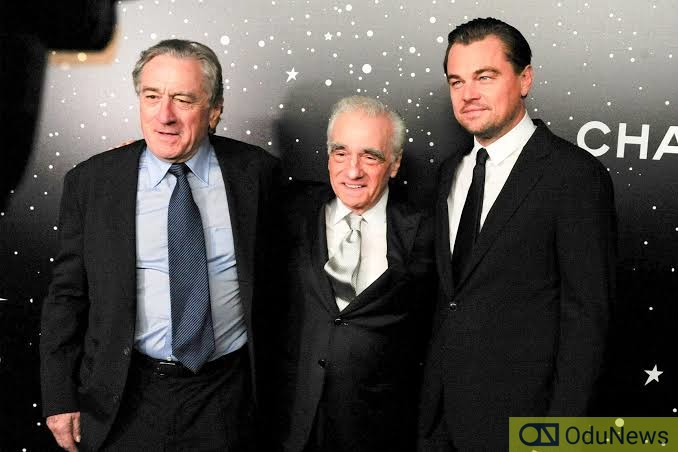 De Niro, Scorsese and DiCaprio worked together in the 1993 short film THIS BOYS LIFE