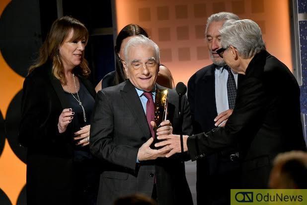 Martin Scorsese and co. at the 2020 SAG Awards