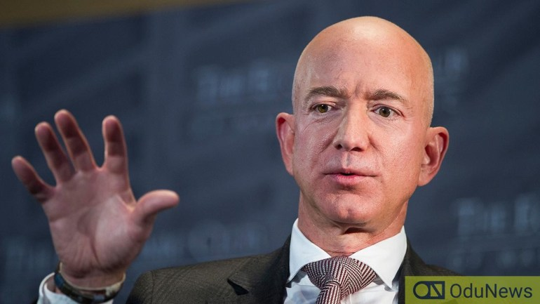 Amazon's Jeff Bezos sells stock worth of $3.5bn