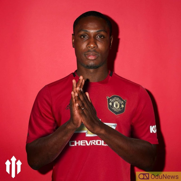 Odion Ighalo signed to Manchester United on loan becomes the first Nigerian to play for the English team