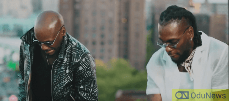 2Baba and Burna Boy get their groove on in We Must Groove video