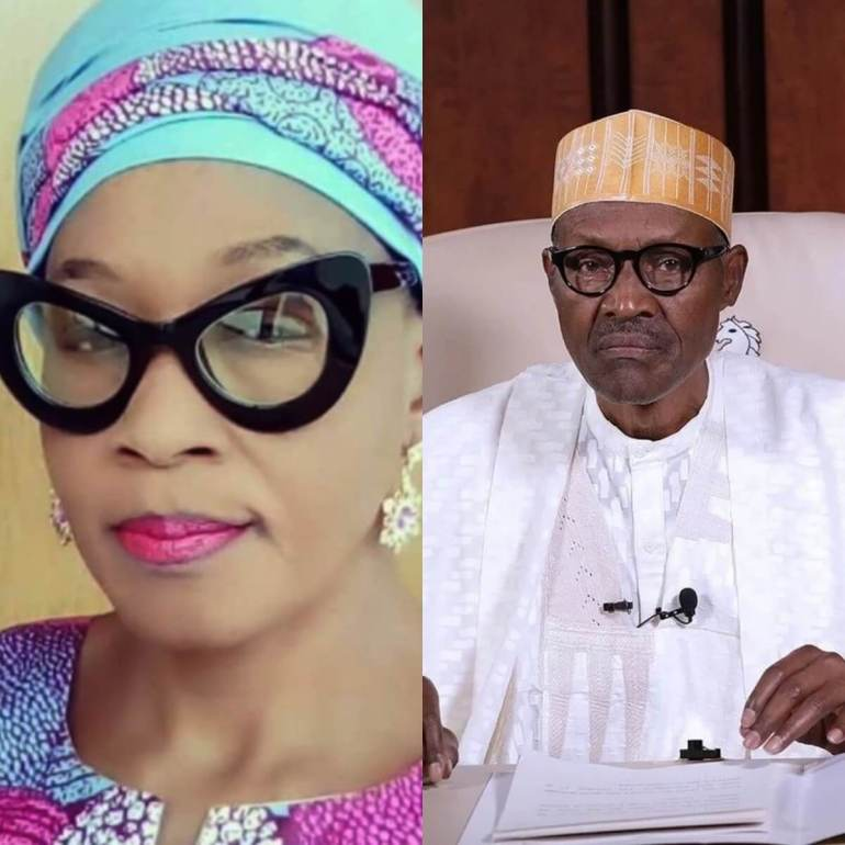 President Buhari Is Sick, Down With Cough - Controversial Journalist Kemi Olunloyo
