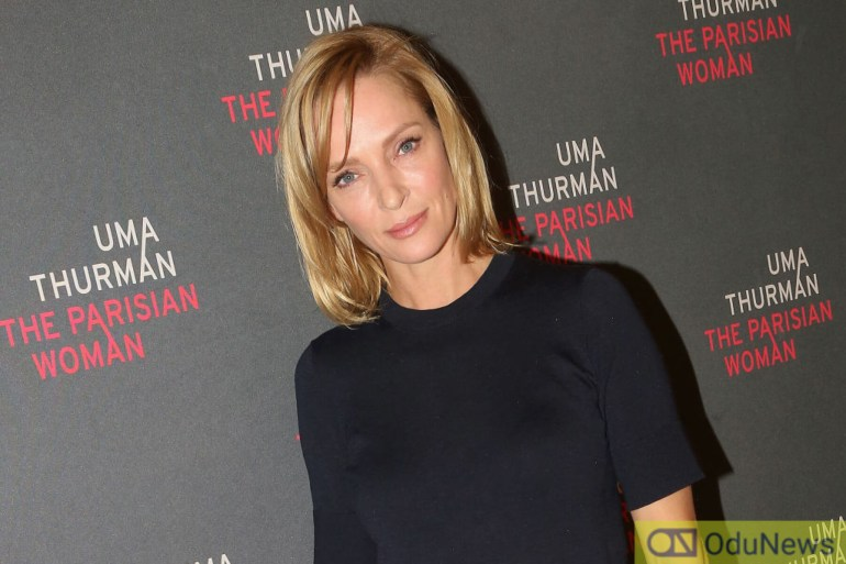 Uma Thurman is known for playing the heroine in KILL BILL/Photo Credit: Getty Images