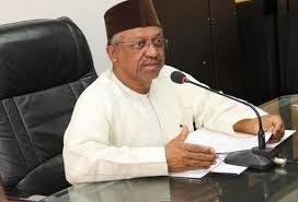 Nigeria's Health Minister, h, Dr Osagie Ehanire