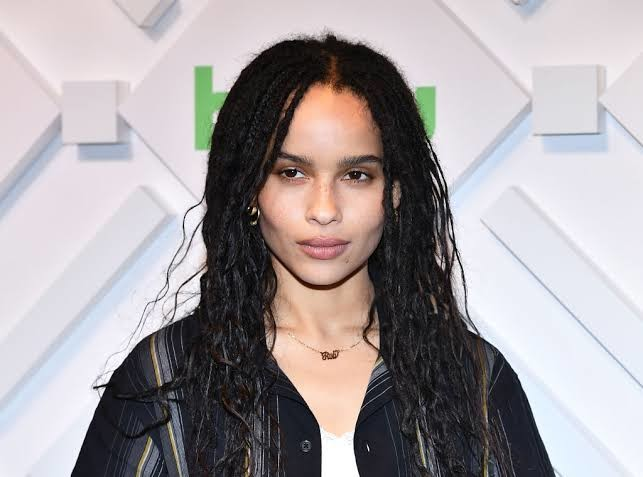 Zoe Kravitz is the step-daughter of AQUAMAN actor Jason Momoa