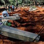 Brazil Reports 1,179 COVID-19 Deaths In A Day