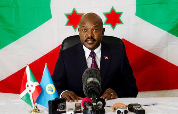 BREAKING: 55-year-old Burundi President Dies Of Heart Attack