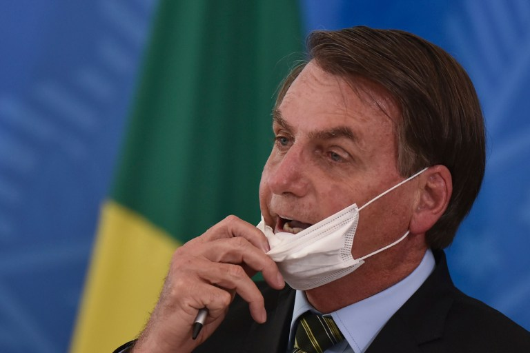 JUST IN: Brazil's President Jair Bolsonaro Tests Positive For Coronavirus