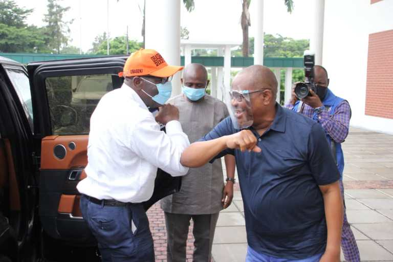 Obaseki Disqualified By Someone Who Doesn't Have Certificate - Wike Says