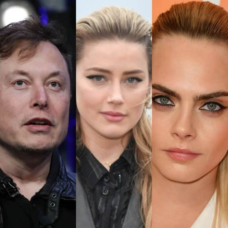 I Did Not Have 'Three Way Affair' With Amber Heard & Cara Delevingne – Elon Musk