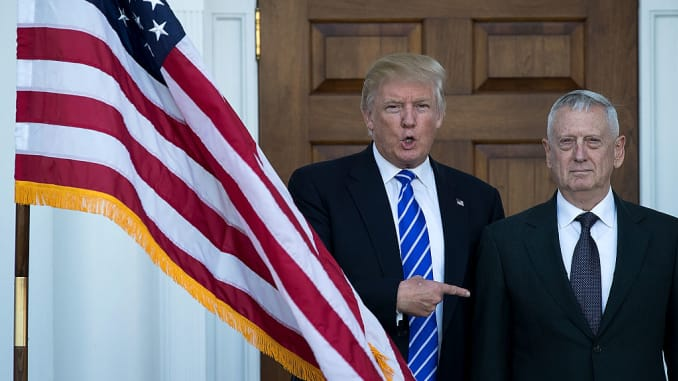 Trump Is Deliberately Dividing Americans, US Ex-Defence Secretary Says