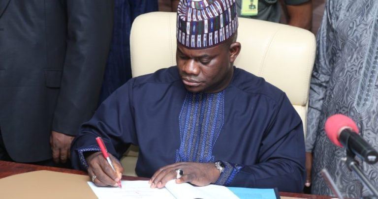 COVID-19: Yahaya Bello Orders Total Lockdown Of Kabba/Bunu LGA