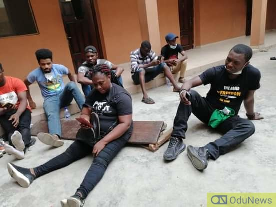 #RevolutionNow: Police Arrests Agba Jalingo, 18 Other Protesters In Lagos