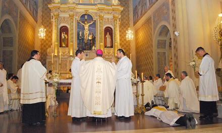 Ordenación Presbiteral de Agustín Vedelago