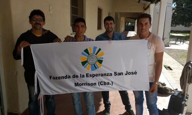 """""""¡Estamos tocando la misericordia de Dios!"""" Inauguración de la Fazenda """"San José"""""""