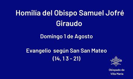 Homilía del Obispo Samuel J. Giraudo
