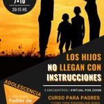Curso para familias de hijos adolescentes