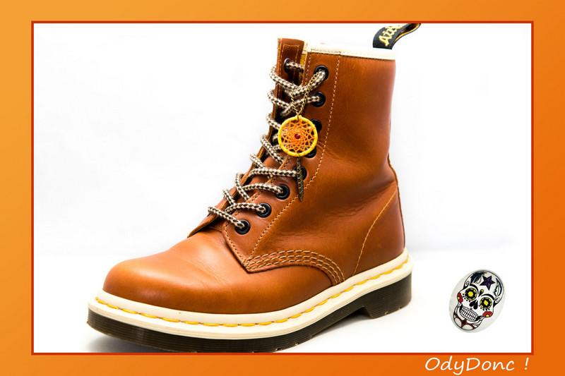 Bijou de Chaussures 2 en 1 Inspiration Automne Pendentif Ethnique Attrape Rêves Dreamcatcher