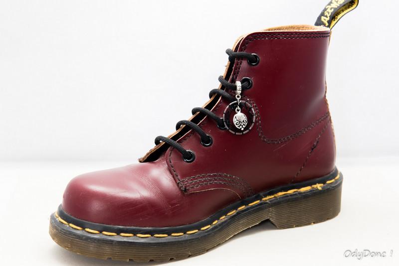 bijou de chaussures bélière rock
