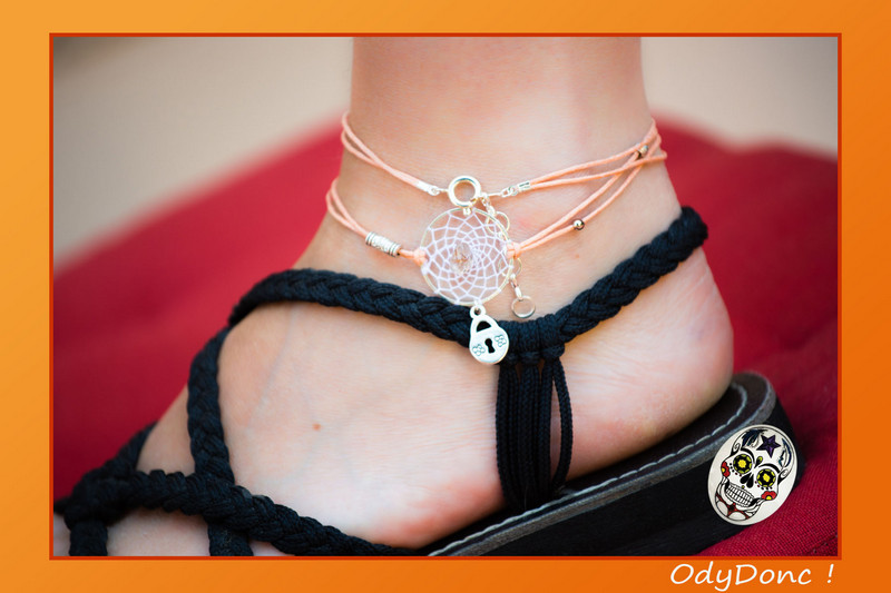 bijou de cheville cadenas