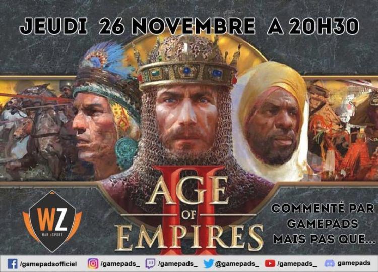 Tournoi Age Of Empire II, InterZones WarpZone Cherbourg