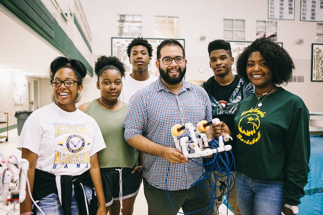 High School Robotics Staff