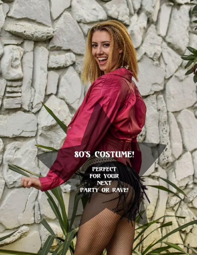 Odyssey Designs 80's Halloween Costume