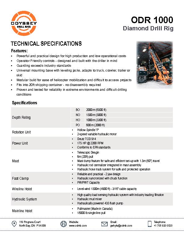 Technical Documentation - Odyssey Fluid Power