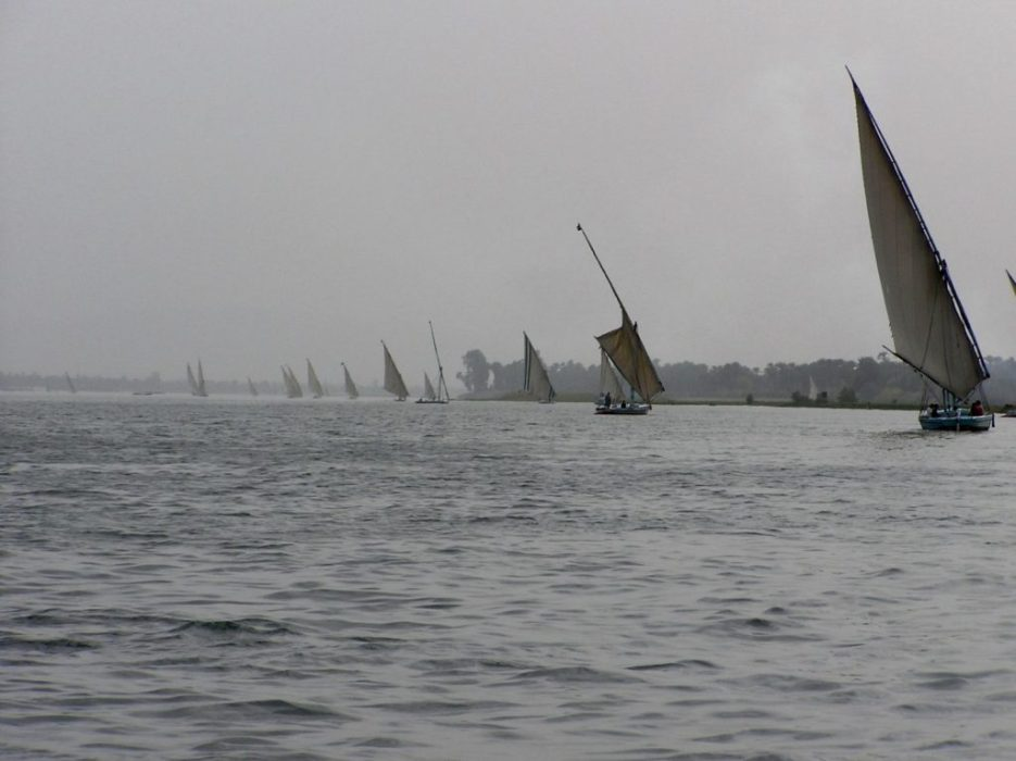 felucas on the Nile