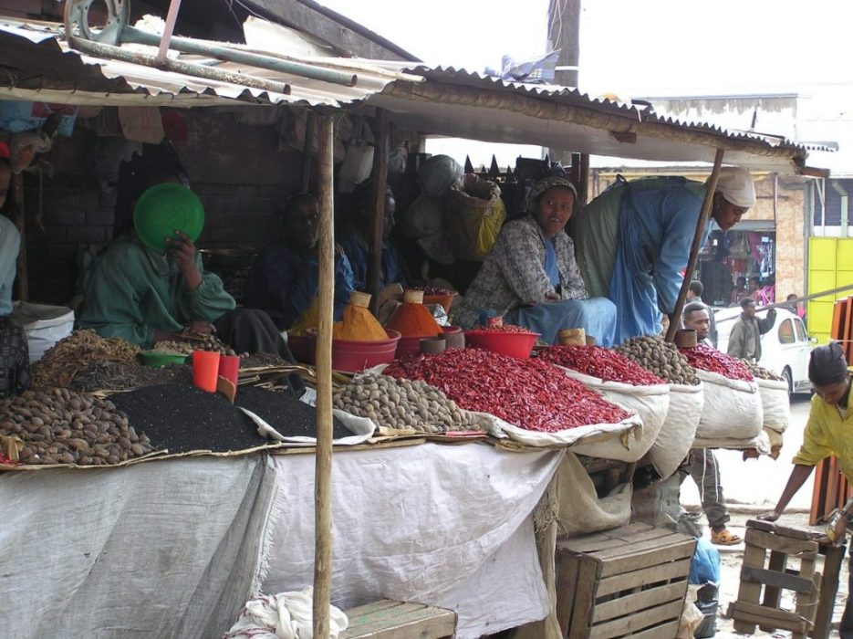 Addis market