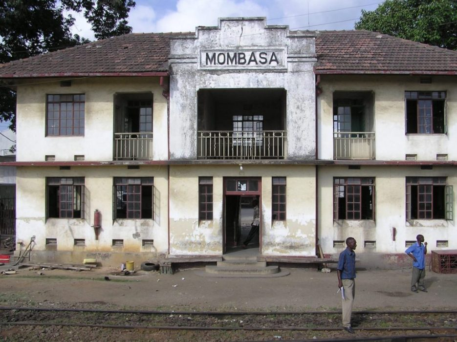 arriving Mombassa