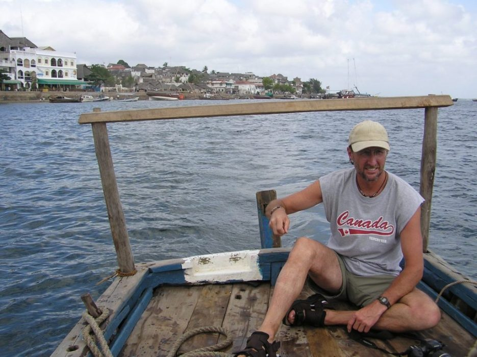 on a dhow