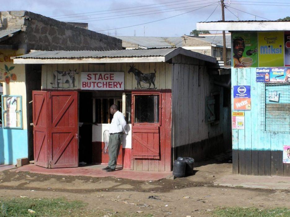 heading to Mt. Kenya