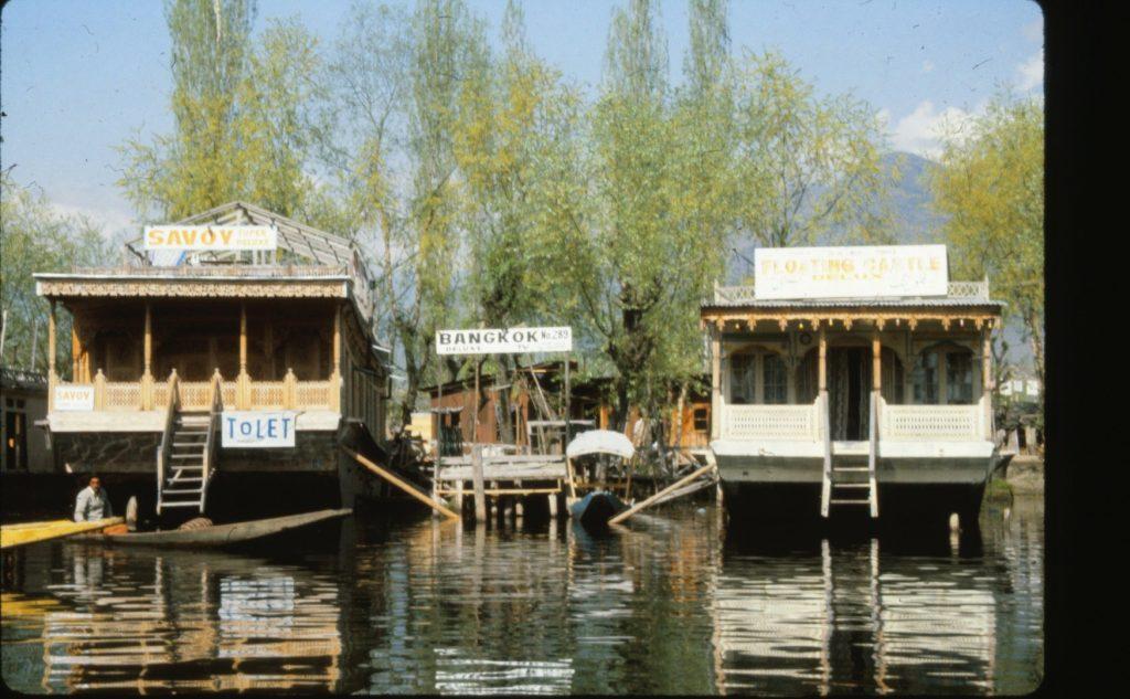 Lake Dal houseboats