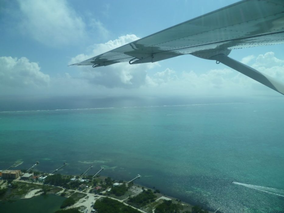 flying to San Ignacio