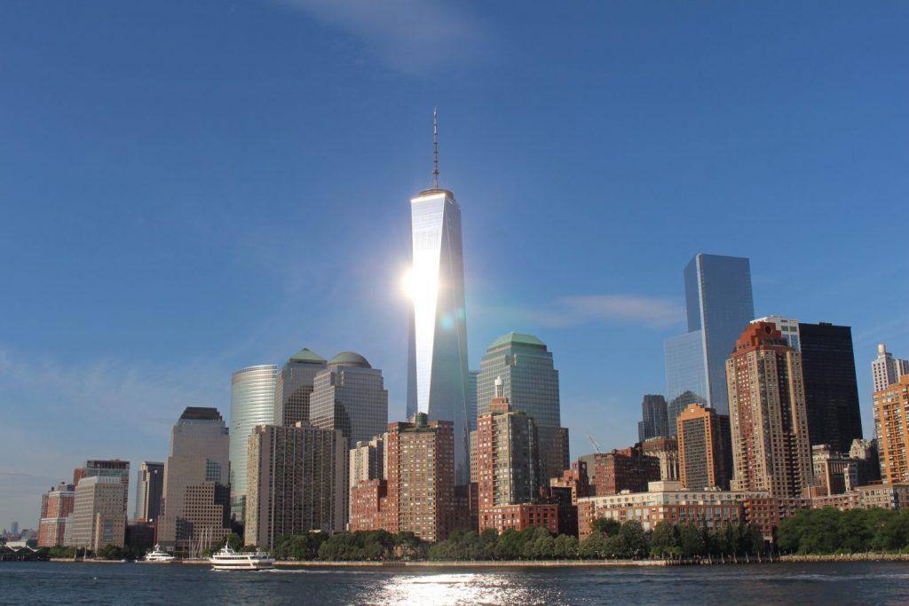 the WTC monument