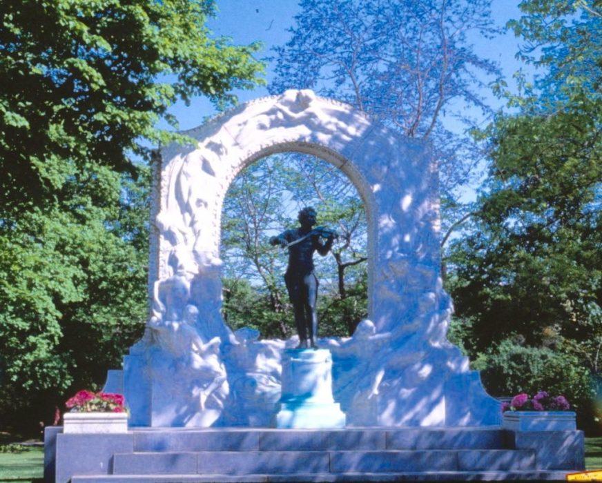 Johann Strauss in Vienna