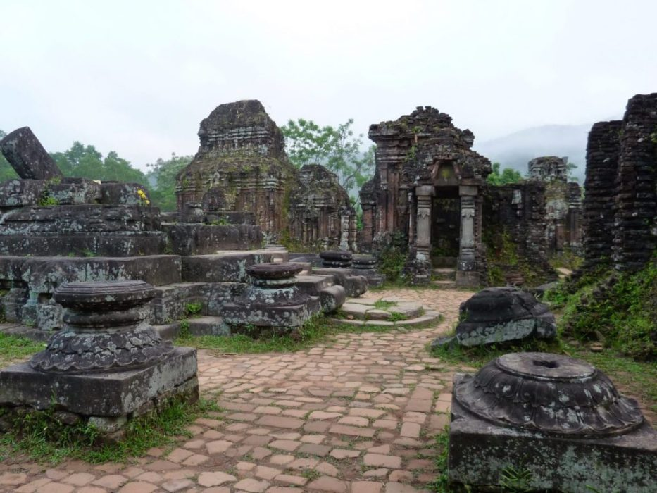 Hindu temples dating back to the 4th century AD